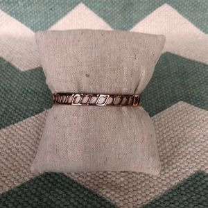 Stella & Dot leather bracelet